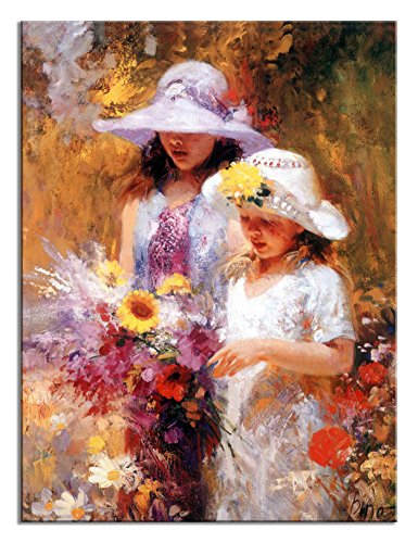 Ode-Rin Art Mothers Day Gifts Prints Painting Figures Picture Wall Arts