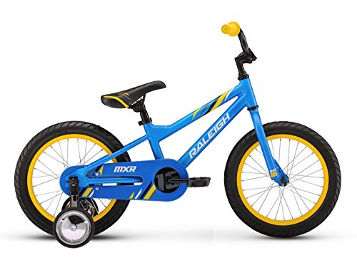 Raleigh Bikes Kids MXR 16 Bike, One Size, Blue