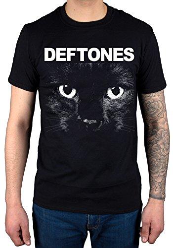(AWDIP Men's Official Deftones Sphynx T-Shirt Band Metal Rock Chino Moreno Black)