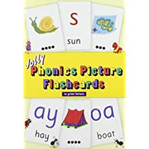 Jolly Phonics Picture Flashcards (in Print Letters) by Lloyd, Sue, Wernham, Sara (2014) Paperback