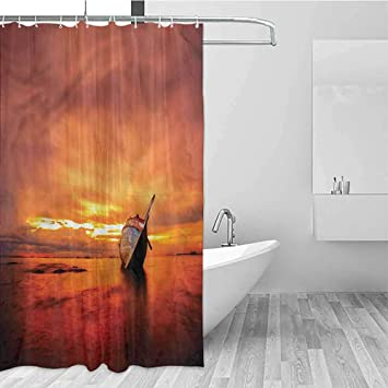 Outstanding Amazon Com Shower Curtain Home Decor Soft Polyester Beutiful Home Inspiration Ommitmahrainfo