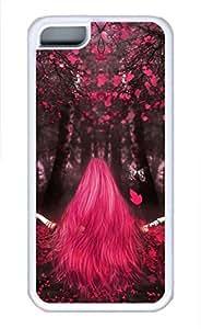 iPhone 5c case, Cute Love Magic iPhone 5c Cover, iPhone 5c Cases, Soft Whtie iPhone 5c Covers