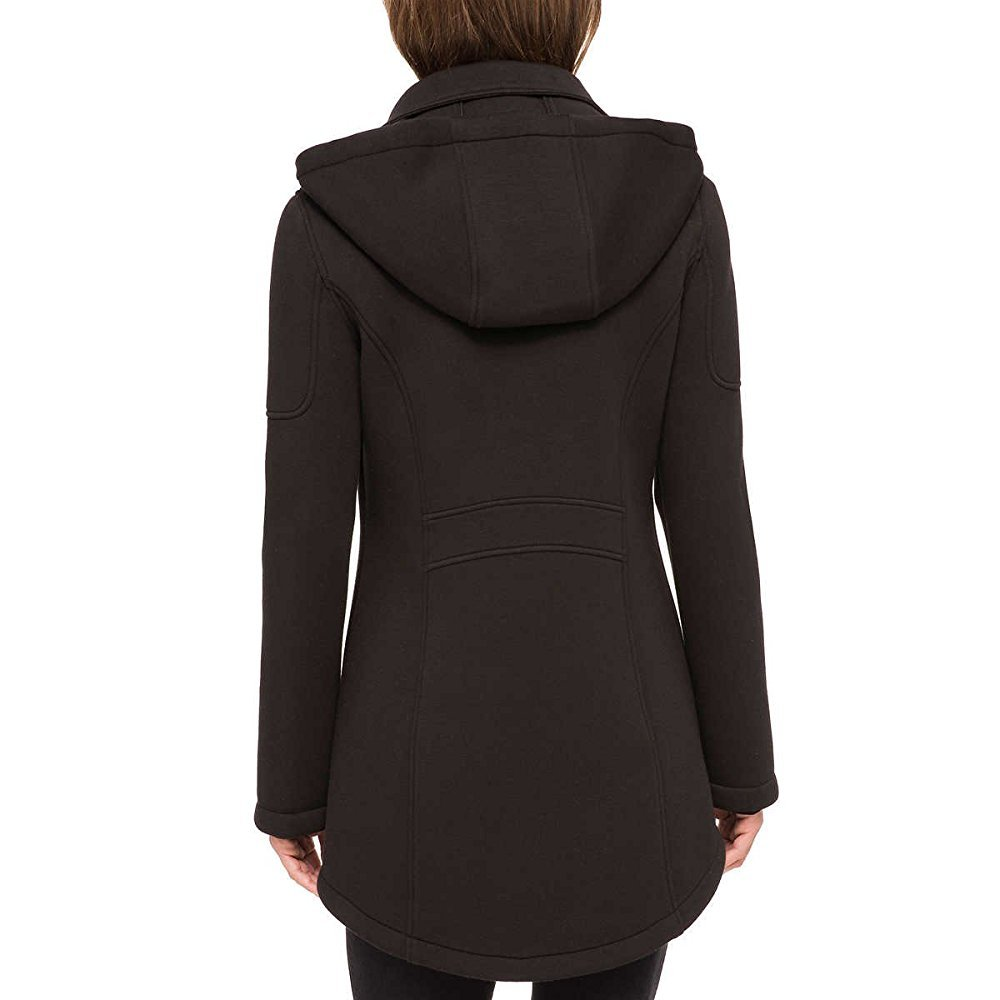 Andrew Marc Ladies Hooded Knit Jacket