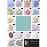 #CP4 - ADRIATICO BLUE - CHALK 2 CHIC 11oz / 312g POWDER CHALK diy PAINT makes up to 2 Litres of shabby chic eco CHALK FURNITURE PAINT by Chalk2Chic