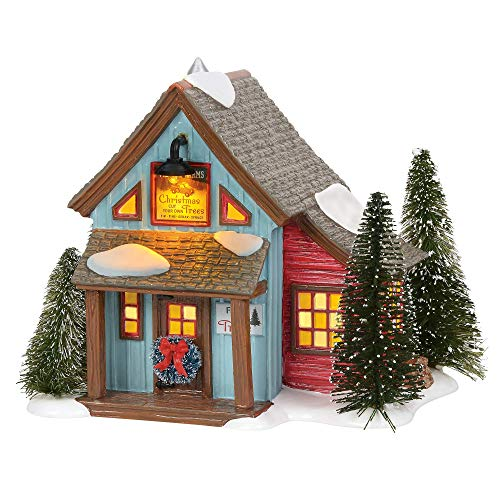 Department 56 Original Snow Village Village Farms Tree Lot