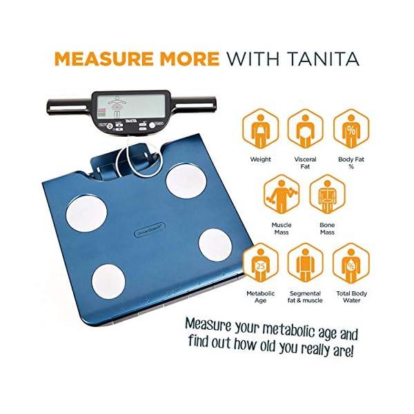 Tanita – BC-602 – Analyseur de Composition Corporelle avec Segmentation – Bleu