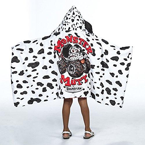 Monster Mutt Dalmatian Kids Hooded - Jam Towel
