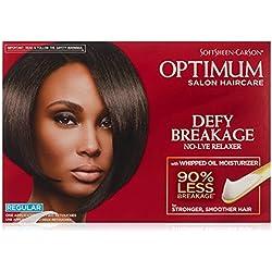 Optimum Care Defy Breakage No-lye Hair Relaxer Regular Strength