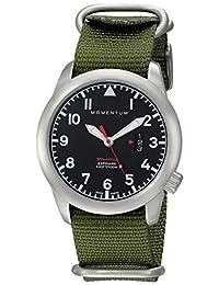 Momentum Men's 1M-SP18BS7G Analog Display Swiss Quartz Green Watch