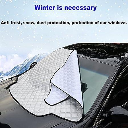 ... el barro y la nieve, Anticongelante, anti-Frost, antirrobo. Después de plegable, gsmall tamaño, peso ligero, fácil de transportar, Ideal para coches, ...