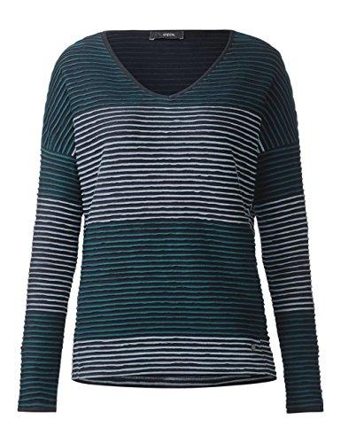 Deep Cecil Blue Bleu Shirt Longues Femme Manches 30128 wHrYOHqXx