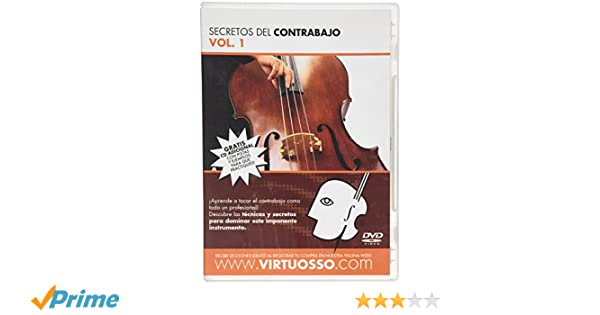 Amazon.com: Virtuosso Upright Bass Method Vol.1 (Curso De Contrabajo Vol.1) SPANISH ONLY: Musical Instruments