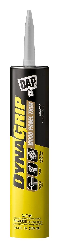 DYNAGRIP 27520 DAP Wood Panel and Trim Premium Adhesive 10.3 Oz White