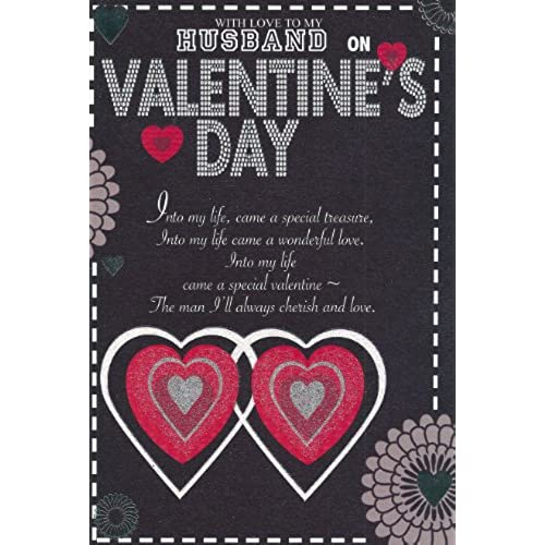 With Love to my Husband on Valentine's Day card Sales
