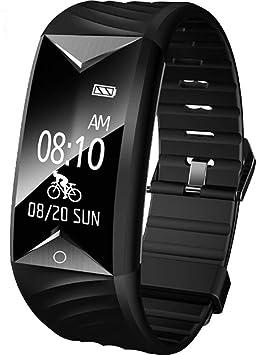 Willful Pulsera Actividad con Pulsómetro, Pulsera Inteligente para Deporte, Reloj Inteligente Impermeable IP67,Pulsómetro,Notificación de Mensajes, Monitor de Sueño, para Hombres Mujeres: Amazon.es: Deportes y aire libre