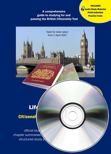 Read Online Life in the UK Test Citizenship Study Guide: Including 225 Practice Questions pdf epub