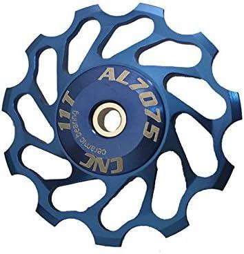 11T Jockey Wheel For SHIMANO XT /& SRAM Bicycle Pulley Bearing Derailleur Blue