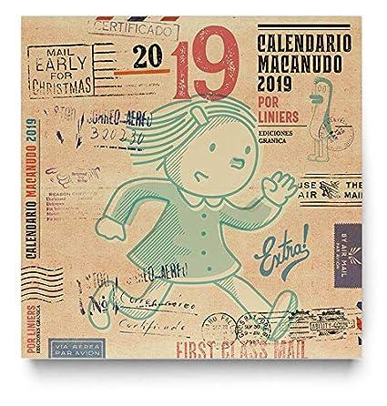Granica GB00115 - Macanudo 2019, calendario de pared: Amazon ...