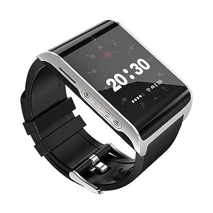 XUEME Reloj Inteligente con Monitor de frecuencia cardíaca, Tarjeta SIM de Soporte Bluetooth Compatible con