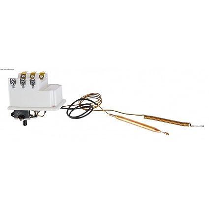 Cotherm - Termostato para calentador de agua - Tipo BTS 450 con 2 bulbos 90°