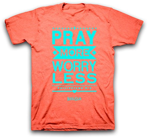 Pray More Worry Christian T Shirt product image