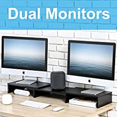 3 Shelf Monitor Stand