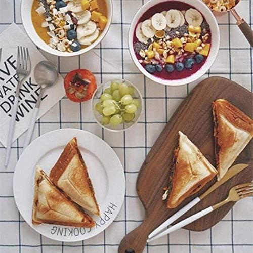 Sandwich Maker Toastie avec Home Sandwich machine multifonction Petit déjeuner Grille pain JIAJIAFUDR