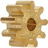 Boston Gear Spur Gear, 14.5 Pressure Angle, Brass, Inch, 16 Pitch