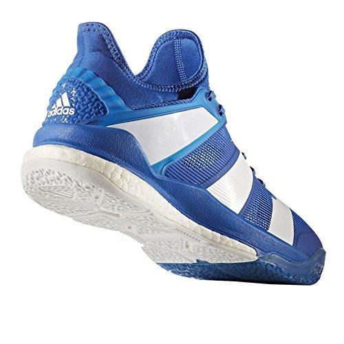 Adidas Mannen Stabiel X Handbal Schoenen, Blauw, Xxl Blauw (blauw / Ftwbla / Blauw)
