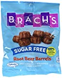 Brach's Sugar Free Root Beer Barrels Candy, 3.5 Ounce Bag, Pack of 12 For Sale
