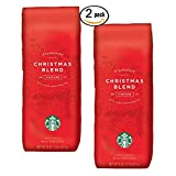 Starbucks - Roasted Whole Bean Coffee - 16 oz - Pack of 2 (Christmas Blend)