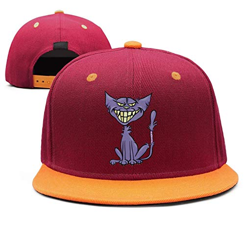 YYQKLON Halloween Zombie cat Cartoon Snapback Hat Vintage Hip Hop Cap -