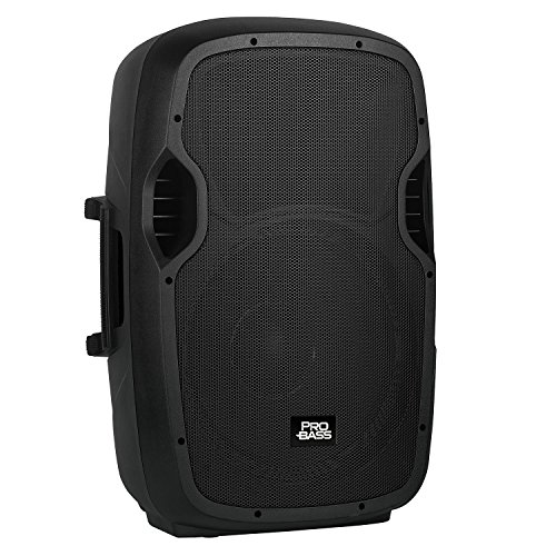 "Pro Bass Pro Bass Elevate 115, Portable Powered 15"" Loudspeaker, 2000W, Bluetooth, USB, MP3 ()"