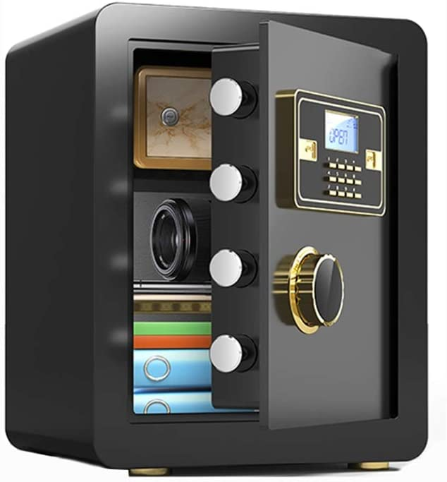 Electronic Digital Keypad Cash Rated Box Home Office Security Box Password Box Home Safe Box 30 x 30 x 38 cm