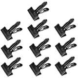 Neewer 10-Pack Set Heavy Duty Muslin Spring Clamps Clips 4 1/4 inch for Photo Studio Backdrops Backgrounds Woodworking