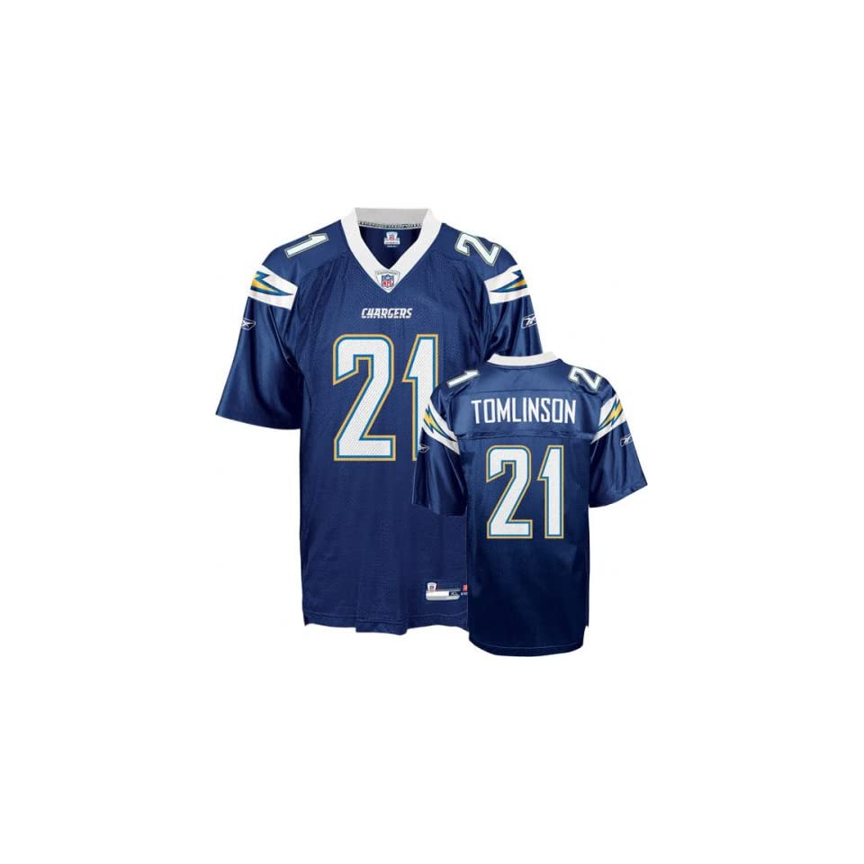 NFL SAN DIEGO CHARGERS LADAINIAN TOMLINSON JERSEY SIZE 54
