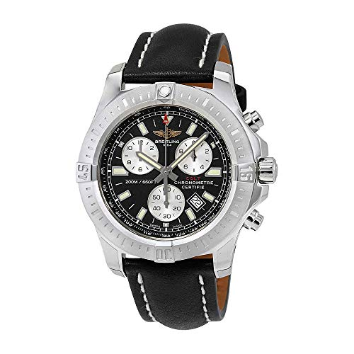 Breitling Colt Chronograph Black Dial Mens Watch A7338811-BD43BKLT Breitling Black Wrist Watch