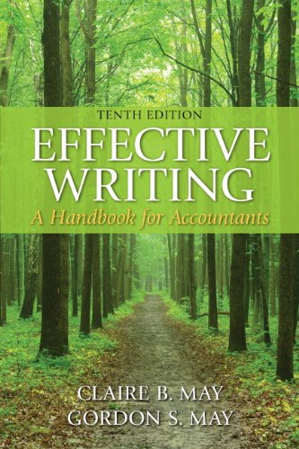 Effective Writing: A Handbook for Accountants (10th Edition) cover