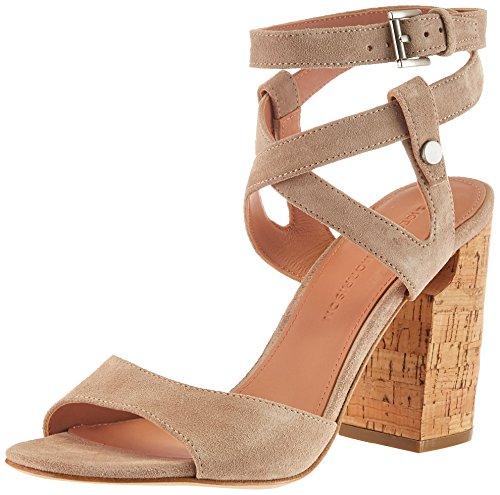 (Sigerson Morrison Women's Paulina2 Heeled Sandal, Sepia, 10 M US)