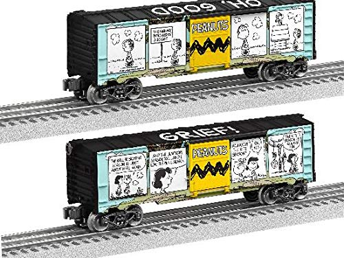 - Lionel 684676 Peanuts Comic Art Hilltop Boxcar, O Gauge, black, Teal, Yellow, White, Green