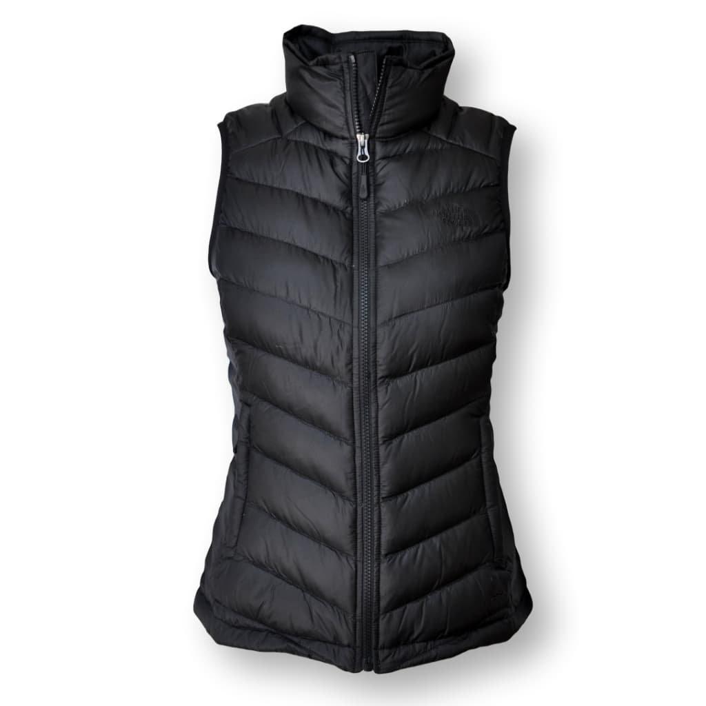 The North Face Women's Flare 550 Down Vest, TNF Black, Medium