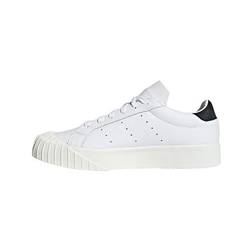 new arrival b147b dff6f adidas EVERYN W Sneakers Bianco Nero CQ2042-38-2-3, Bianco