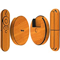 Skinomi TechSkin - Google Nexus Player Light Wood Full Body Skin Protector / Front & Back Wrap / Premium HD Clear Film / Ultra Invisible and Anti-Bubble Crystal Shield