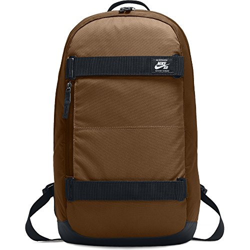 Nike SB Courthouse Skateboarding Laptop Backpack - Ale Brown/Black/White