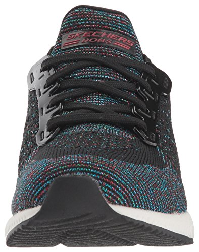 best website dce7b e3d34 Skechers Bobs Squad Pop Color Sneaker Schwarz ...