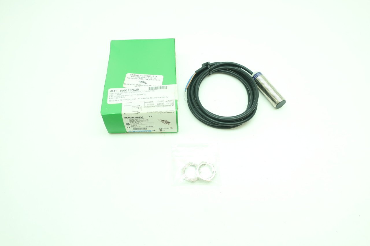 TELEMECANIQUE XS1M18MA250 INDUCTIVE Proximity Sensor 20-264VAC 200MA D624339: Amazon.com: Industrial & Scientific