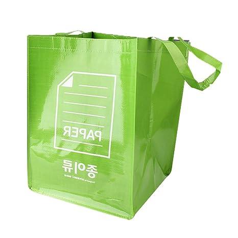 TOPBATHY 3Pcs Papelera de Reciclaje Bolsa de Reciclaje ...