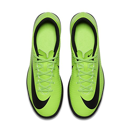 Nike Mercurialx Vortex III TF, Scarpe da Calcio Uomo Nero / Bianco (Dark Obsidian / Drk Obsdn-white)