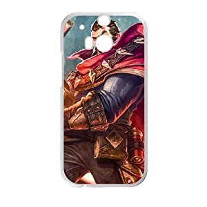 HTC One M8 Phone Case White League of legends-Graves UYUI6764201