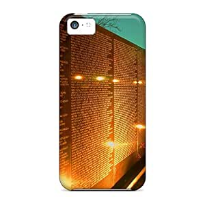High Quality Busttermobile168 Moving Vietnam War Memorial Dc Skin Cases Covers Specially Designed For Iphone - 5c